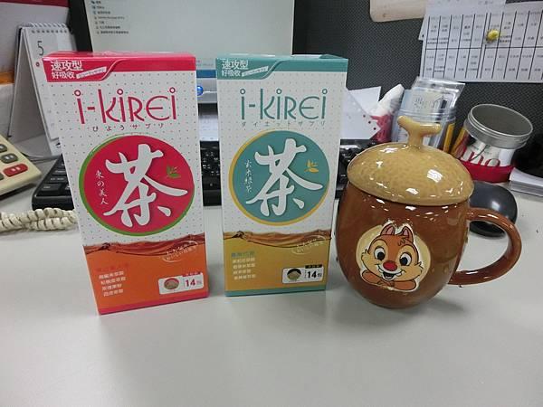 iKirei 東の美人茶 食策代謝玄米綠茶.JPG