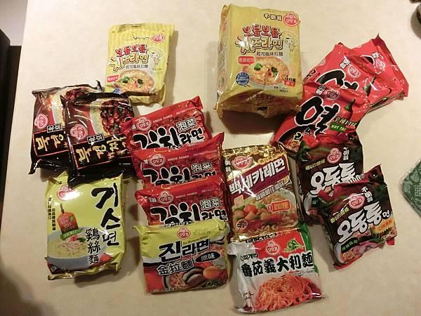韓國必買 不倒翁泡麵
