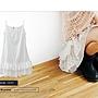 BAI*白媽媽【A68012801】Enjoy!‧自開款層層擺設計細肩襯裙。單色系.jpg