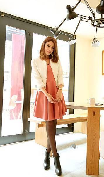 【現貨‧原價$490】☆東京著衣☆【MAYUKI】微金蔥方領氣質洋裝(2037550)