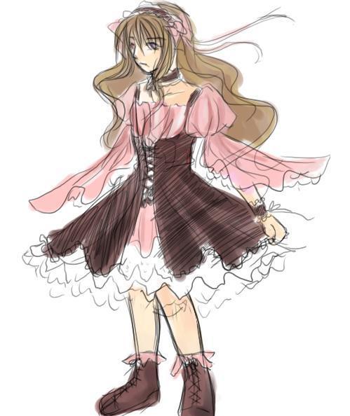 公主《服裝設定》