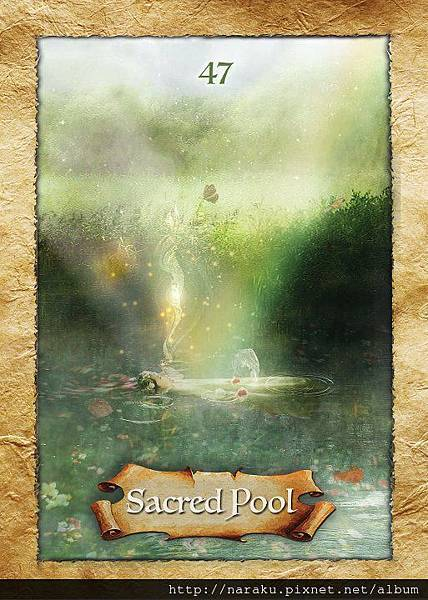 {The Enchanted Map 手冊翻譯} sacred pool 聖池