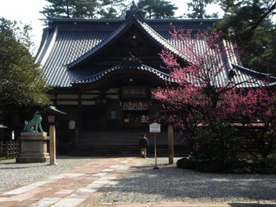 金澤有名的尾山神社