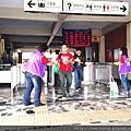 2014年11月2日反毒志工至花蓮火車站發放毒品藥物10件事手冊