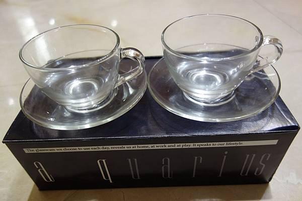 074玻璃咖啡杯1組2入100元