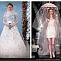 2014春夏紐約婚紗週示範:Oscar de la Renta、Reem Acra