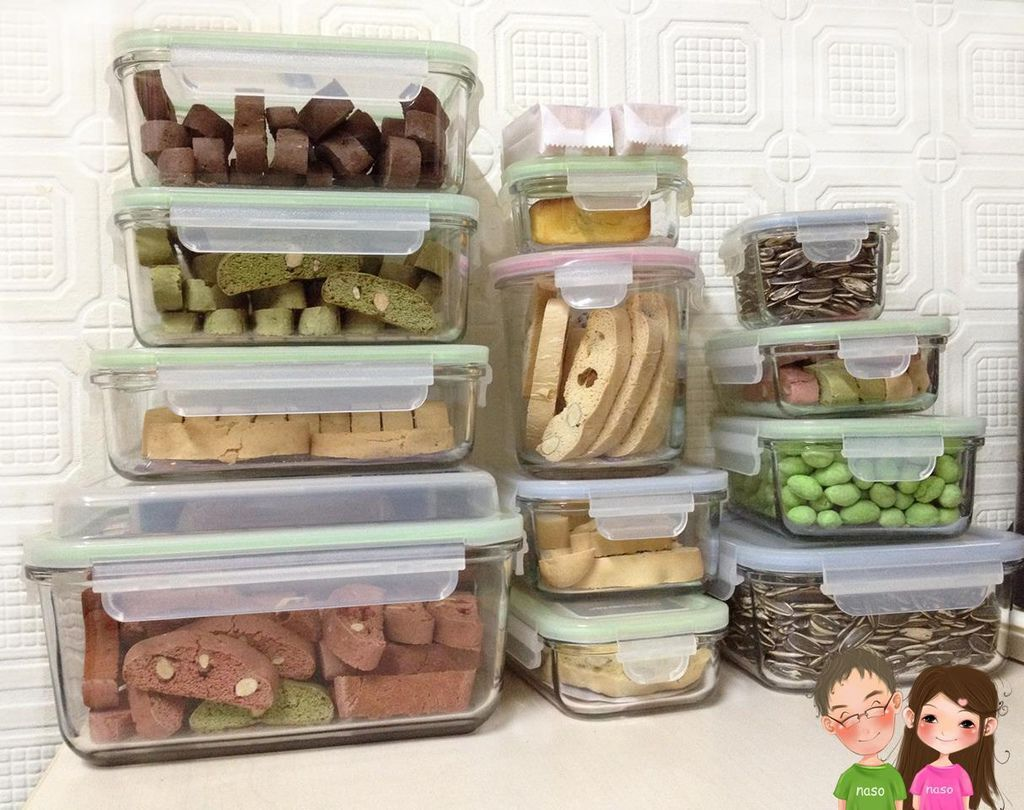【naso心得】Glasslock強化玻璃保鮮盒-食物保存紀錄篇