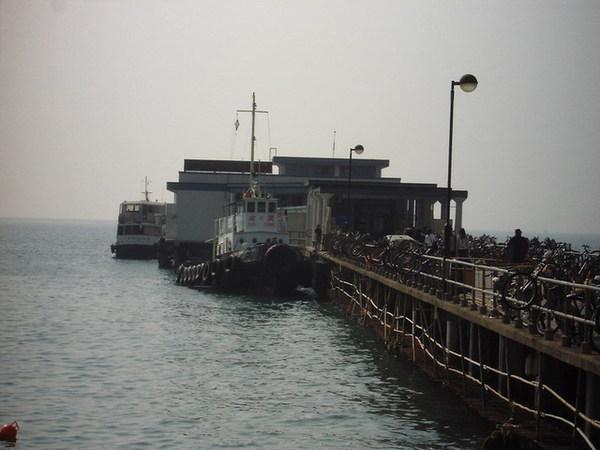 香港離島~南ㄚ島的碼頭