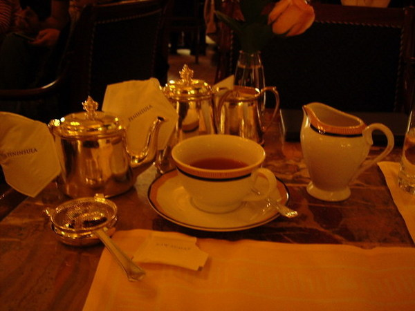 半島酒店~美麗的下午茶點