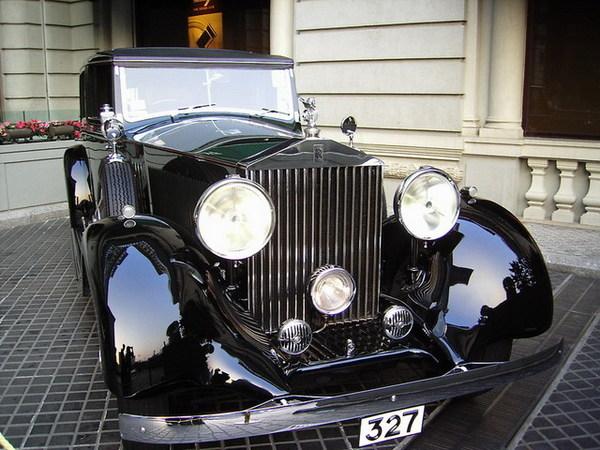 半島酒店~門口的古董車2