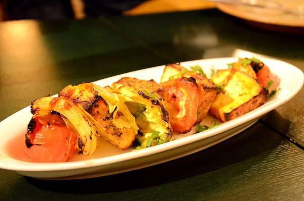 12パニールと野菜のタンドーリサラダ.JPG
