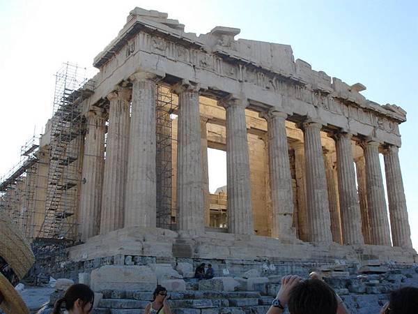 雅典衛城帕特農神殿