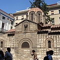 雅典市區(plaka)中的老教堂