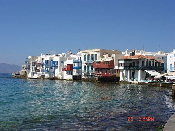 mykonos海邊