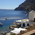 santorini--Thirassia島頂端