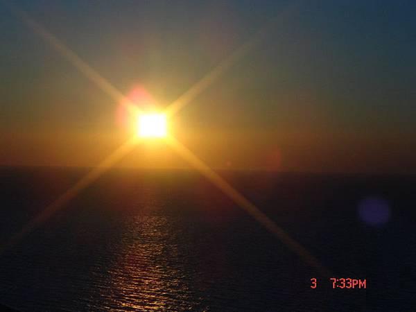 santorini--oia日落