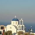 santorini--車行途中的教堂