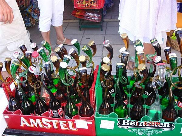chania--特殊造型的酒瓶