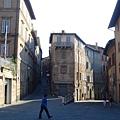 0820-Siena 清晨中的小城還未清醒呢