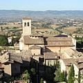 0821-Assisi 晨曦中的Assisi,往聖方濟教堂的路上