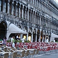 0815-威尼斯  聖馬可廣場上咖啡座