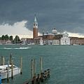 0815-威尼斯   風雨中的港口