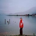 我在瀘沽湖畔