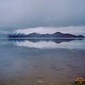 晨光中的瀘沽湖