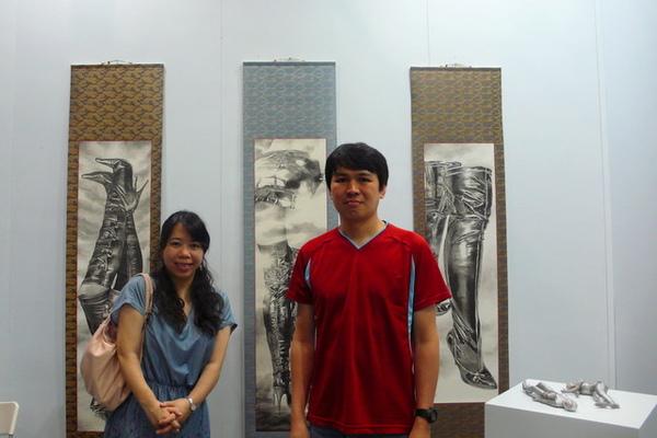 跟西尾康之 NISHIO Yasuyuki 的合照