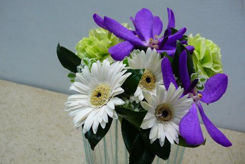 毛線與花 20090818