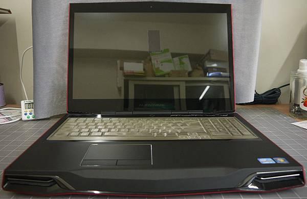 Dell Alienware M17x 鏡面螢幕筆記型電腦貼頂級AR鍍膜