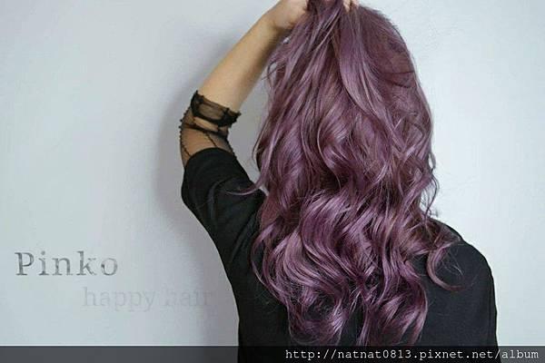 【染髮】薰衣草の色「粉紫」パープル💜💕