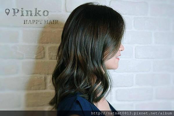 【霧彩地質綠 #염색】讓髮型更是「質感」加分(1)