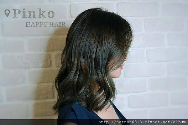 【霧彩地質綠 #염색】讓髮型更是「質感」加分