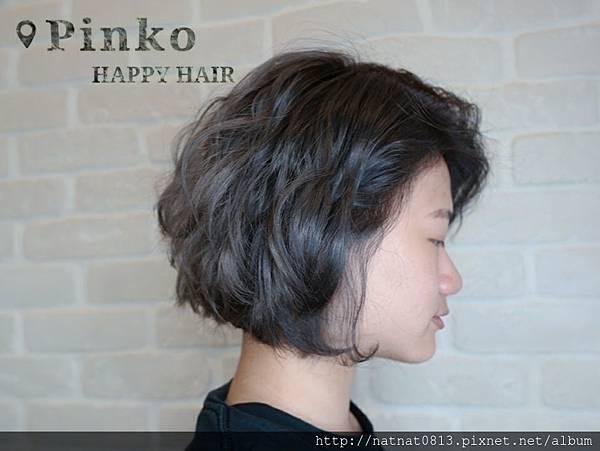 【短髮造型波紋捲】