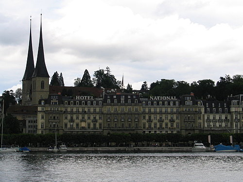 瑞士盧森湖畔