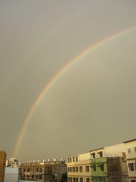 色彩--天氣彩虹