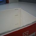 手做牛奶盒皂模-過程2