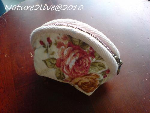 玫瑰小零錢包