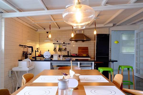 初夏日和一館 - 開放式廚房