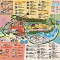 讀賣樂園中文地圖