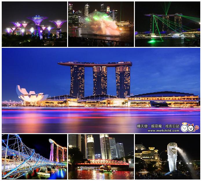 新加坡燈光秀
