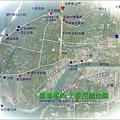 台灣極西七股探幽地圖