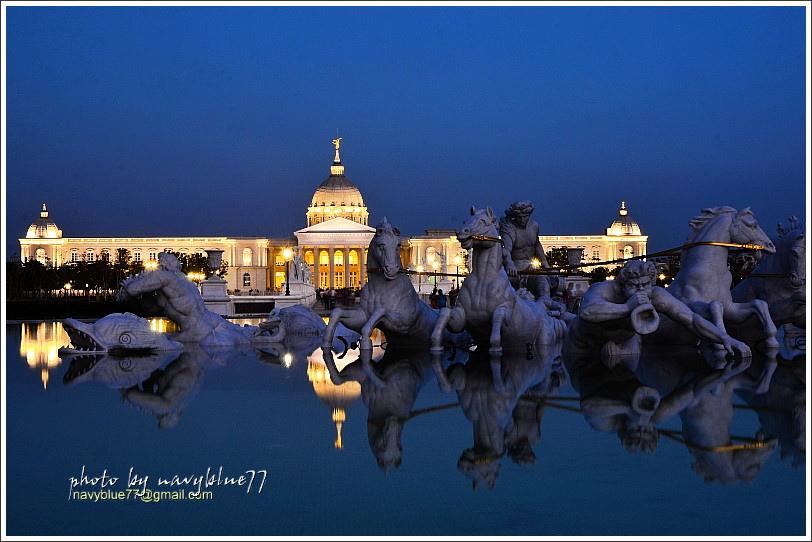 奇美博物館夜景05.JPG