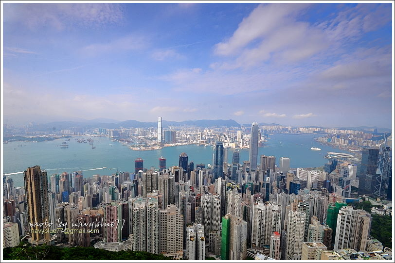 香港太平山頂環迴步行徑09