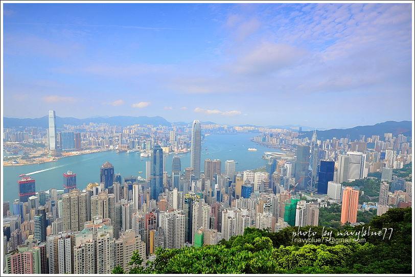 香港太平山頂環迴步行徑12