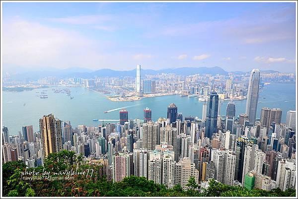 香港太平山頂環迴步行徑13