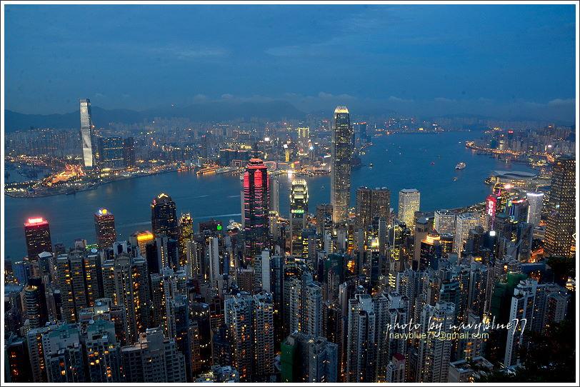 香港太平山夜景05
