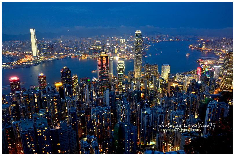 香港太平山夜景08