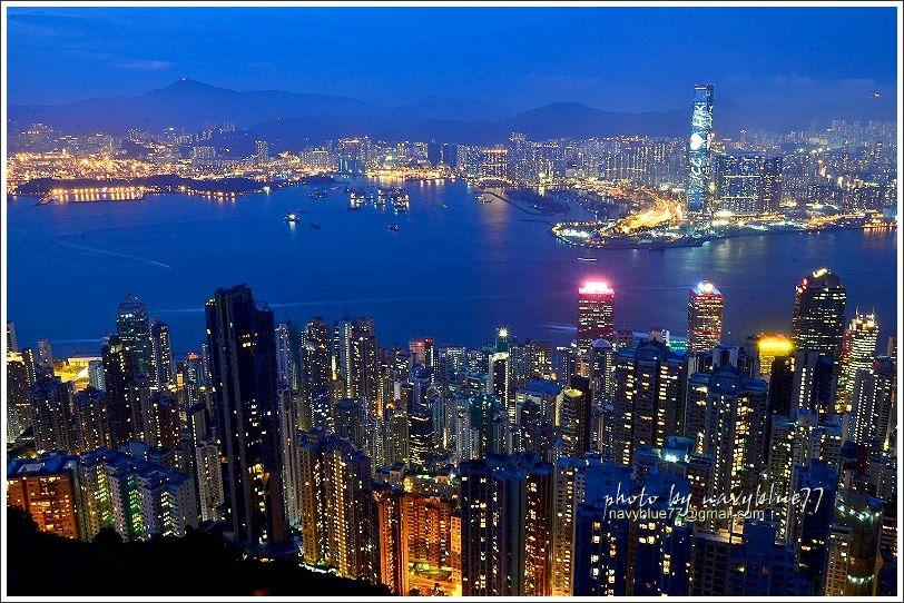 香港太平山夜景10